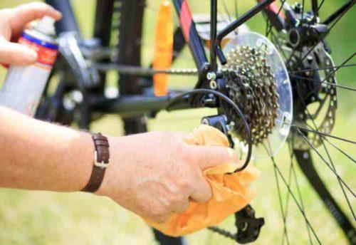 自転車のチェーン掃除はこまめに行う