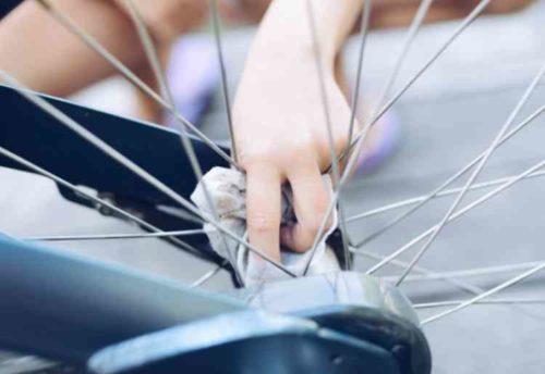 自転車のチェーン掃除のやり方