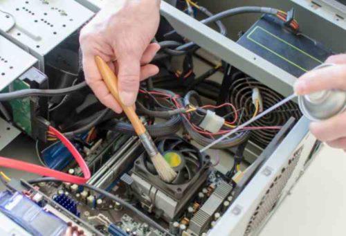 パソコン内部のホコリ掃除