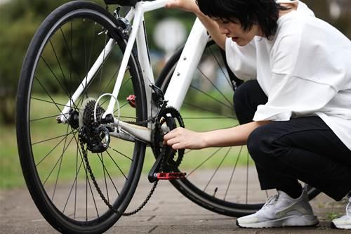 自転車チェーン掃除の頻度