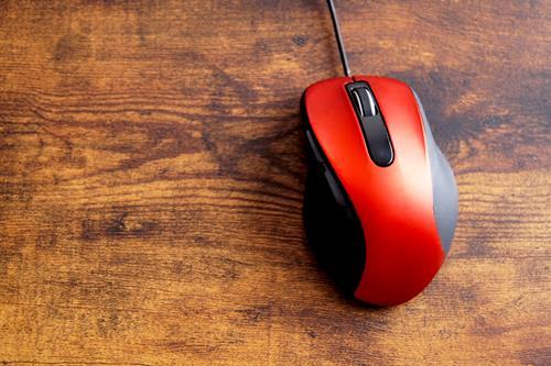 パソコン掃除マウス