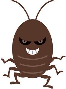黒い粒はゴキブリ(害虫)のフン