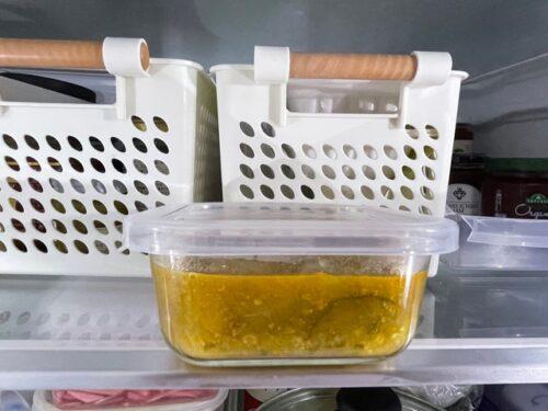 冷蔵保存したカレー