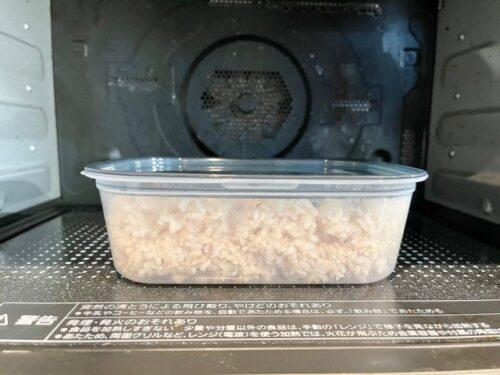 冷凍ご飯をまとめて解凍しない