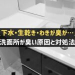 洗面所が臭い原因